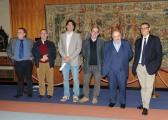 foto: Gioia Botteghi/IPP Roma, 7 maggio 2012. programma rai storia in 4D, nella foto Maurizio Costanzo e il suo staff