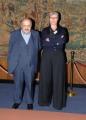 foto: Gioia Botteghi/IPP Roma, 7 maggio 2012. programma rai storia in 4D, nella foto Maurizio Costanzo con Silvia Calandrelli