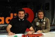 foto:IPP/Gioia Botteghi Roma 8/05/2012 programma di raidue Super Club quattro puntate in seconda serata, conducono: Max Giusti e Luca Barbarossa