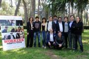 foto:IPP/Gioia Botteghi Roma 9/05/2012 Presentazione del film workers, nella foto: il cast