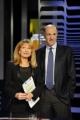 foto:IPP/Gioia Botteghi Roma 9/05/2012 programma otto e mezzo nella foto Corrado Passera e Lilly Gruber