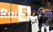 foto:IPP/Gioia Botteghi Roma 10/05/2012 Presentazione del programma di rai 5_ Tutto in 48 ore_ nella foto Cecilia Dazzi – conduttrice e attrice Claudio Guerrini – conduttore e speaker radiofonico