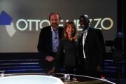 foto:IPP/Gioia Botteghi Roma 15/05/2012 Clarence Seedorf ospite di Lilly Gruber alla trasmissione otto e mezzo de La7 con lui anche Arturo Artom , imprenditore