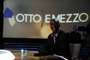 foto:IPP/Gioia Botteghi Roma 15/05/2012 Clarence Seedorf ospite di Lilly Gruber alla trasmissione otto e mezzo de La7
