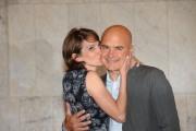foto:IPP/Gioia Botteghi Roma 21/05/2012 Presentazione della fiction I 57 GIORNI, nella foto: Luca Zingaretti e Lorenza Indovina