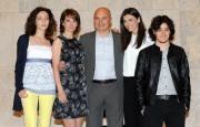 foto:IPP/Gioia Botteghi Roma 21/05/2012 Presentazione della fiction I 57 GIORNI, nella foto: Luca Zingaretti nei panni di Borsellino con la famiglia della fiction