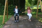 foto:IPP/Gioia Botteghi Roma 25/05/2012 Uno mattina estate ; Savino Zampa e Veronica Gatto