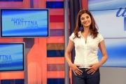 foto:IPP/Gioia Botteghi Roma 08/06/2012     1 mattina lo studio e i conduttori: Benedetta Rinaldi