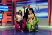 foto:IPP/Gioia Botteghi Roma 08/06/2012     1 mattina lo studio e i conduttori: Benedetta Rinaldi, Gerardo Graco, Vira Carbone, Luca Salerno