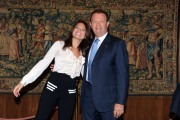 foto:IPP/Gioia Botteghi Roma 04/06/2012 conferenza stampa di Rai sport per gli europei, nella foto Valeria Ciardiello e Mario Mattioli