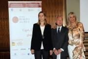 foto:IPP/Gioia Botteghi Roma 13/06/2012 presentazione del premio Biagio Agnes, nella foto: Gianni Letta Mara Venier Simona Agnes