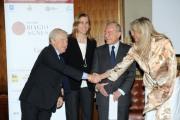foto:IPP/Gioia Botteghi Roma 13/06/2012 presentazione del premio Biagio Agnes, nella foto: Paolo Garimberti Gianni Letta Mara Venier Simona Agnes