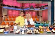 foto:IPP/Gioia Botteghi 6/09/2012  Roma presentazione della nuova edizione di La prova del cuoco, nella foto: Antonella Clerici e Salvatore Di Riso