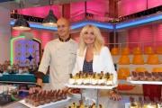 foto:IPP/Gioia Botteghi 6/09/2012  Roma presentazione della nuova edizione di La prova del cuoco, nella foto: Antonella Clerici e Guido Castagna