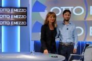 foto:IPP/Gioia Botteghi 9/09/2012  Roma Prima puntata di ottoemezzo de la7, nella foto Lilli Gruber e Giovanni Favia, il consigliere regionale dell'Emilia-Romagna