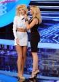 foto:IPP/Gioia Botteghi 21/09/2012  Roma trasmissione rai Tali e Quali Show, nella foto Pamela Camassa con Lorella Cuccarini