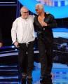 foto:IPP/Gioia Botteghi 21/09/2012  Roma trasmissione rai Tali e Quali Show, nella foto Franco Califano con Jo Di Tonno
