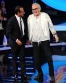 foto:IPP/Gioia Botteghi 21/09/2012  Roma trasmissione rai Tali e Quali Show, nella foto Franco Califano con Carlo Conti