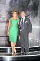 foto:IPP/Gioia Botteghi 19/09/2012  Roma trasmissione rai PER TUTTA LA VITA prima puntata, nella foto: Antonio Caprarica e la moglie Iolanta Miroshnikova