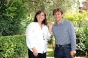 foto:IPP/Gioia Botteghi 25/09/2012  Roma presentazione in rai di SFIDE raitre, nella foto: Simona Ercolani ed Alex Zanardi