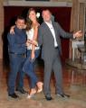 foto:IPP/Gioia Botteghi 29/09/2012  Roma prima puntata di Mazzogiorno in Famiglia, nella foto : Amedeus, Laura Barriales, Sergio Friscia