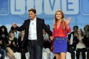 foto:IPP/Gioia Botteghi 28/10/2012  Roma  puntata di Domenica Live la conduttrice Sabrina Scampini e Alessio Vinci durante l'addio al pubblico