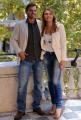 foto:IPP/Gioia Botteghi 4/10/2012  Roma presentazione della trasmissione di canale 5, DOMENICA LIVE, nella foto: i conduttori Alessio Vinci e Sabrina Scampini