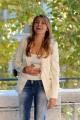foto:IPP/Gioia Botteghi 4/10/2012  Roma presentazione della trasmissione di canale 5, DOMENICA LIVE, nella foto: i conduttori  Sabrina Scampini