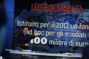 foto:IPP/Gioia Botteghi 10/10/2012  Roma trasmissione porta a porta, nella foto:  con Vespa