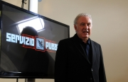 foto:IPP/Gioia Botteghi 22/10/2012  Roma presentazione del nuovo programma di Santoro Servizio Pubblico su la7, nella foto: Michele Santoro