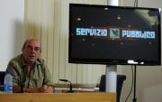 foto:IPP/Gioia Botteghi 22/10/2012  Roma presentazione del nuovo programma di Santoro Servizio Pubblico su la7, nella foto: Vauro