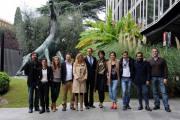 foto:IPP/Gioia Botteghi 26/10/2012  Romapresentazione della fiction Questo nostro amore, nella foto: tutto il cast con il regista Luca Ribuoli