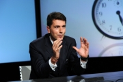 foto:IPP/Gioia Botteghi 28/10/2012  Roma puntata di IN MEZZ'ORA ospite dell'annunziata Davide Serra ( finanziatore di Matteo Renzi )