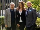 foto:IPP/Gioia Botteghi 30/10/2012  Roma Airc rai, alcuni dei testimonial,   Elisa Isoardi, Franco Di Mare, Claudio Lippi