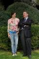foto/IPP/Gioia Botteghi   20/03/2012 Roma,  presentazione del programma di rai tre Amori criminali, conduce Luisa Ranieri, nella foto con il direttore della rete Di Bella