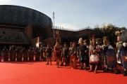 Foto/IPP/Gioia Botteghi 10/11/2012 Roma Romacinemafest, secondo giorno BENUR, nella foto Auditorium con centurioni
