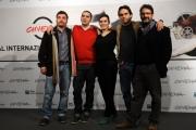 Foto/IPP/Gioia Botteghi 12/11/2012 Roma Romacinemafest, quarto giorno, film cinema lo faccio io nella foto il cast