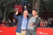 Foto/IPP/Gioia Botteghi 16/11/2012 Roma Romacinemafest, ottavo giorno, film Pinuccio Lovero yes i can, nella foto Pippo Mezzapesa e Pinuccio Lovero