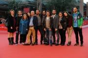 Foto/IPP/Gioia Botteghi 16/11/2012 Roma Romacinemafest, ottavo giorno, film Pinuccio Lovero yes i can, nella foto Pippo Mezzapesa e Pinuccio Lovero ed il cast