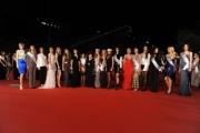 Foto/IPP/Gioia Botteghi 16/11/2012 Roma Romacinemafest, ottavo giorno, film Enzo Mirigliani, nella foto al centro Caterina Murino, Gina Lollobrigida, Patrizia Mirigliani, Giusy Buscemi e altre 120 miss