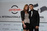foto:IPP/Gioia Botteghi   17/11/2012 Roma Romacinemafest, premiati, nella foto:  Nader Sarhan con la fidanzata Brigitte Apruzzesi  e attice del film Alì ha gli occhi azzurri