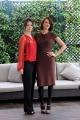 foto:IPP/Gioia Botteghi 20/11/2012 Roma, presentazione del film DRACULA, nella foto: Asia  Argento con Marta Gastini