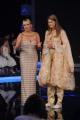 foto:IPP/Gioia Botteghi 24/11/2012 Roma, puntata semifinale di TI LASCIO UNA CANZONE, nella foto Antonella Clerici con  Vanessa Hessler