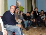 foto:IPP/Gioia Botteghi 29/11/2012 Roma, visita sul set del nuovo film di Federico Moccia UNIVERSITARI