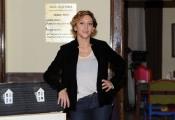 foto:IPP/Gioia Botteghi 29/11/2012 Roma, visita sul set del nuovo film di Federico Moccia UNIVERSITARI, nella foto: Paola Minaccioni