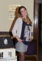 foto:IPP/Gioia Botteghi 29/11/2012 Roma, visita sul set del nuovo film di Federico Moccia UNIVERSITARI, nella foto: Maria Chiara Centorami