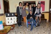 foto:IPP/Gioia Botteghi 29/11/2012 Roma, visita sul set del nuovo film di Federico Moccia UNIVERSITARI  il cast