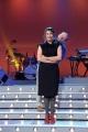 foto/IPP/Gioia Botteghi 12/01/2012 Roma, Presentazione del nuovo programma di Serena Dandini a la 7_ The Show must go off, nella foto : Dandini e Vergassola