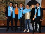 foto:IPP/Gioia Botteghi 06/12/2012 Roma, Conferenza stampa di Telethon, nella foto Montezemolo , Frizzi, Belli, Elisa Isoardi, Flavio Insinna, Arianna Cimpoli