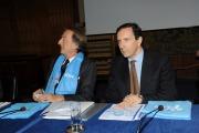 foto:IPP/Gioia Botteghi 06/12/2012 Roma, Conferenza stampa di Telethon, nella foto Montezemolo e Gubitosi